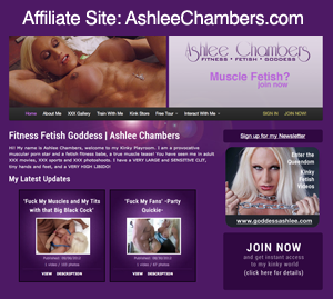 Affiliate Site: AshleeChambers.com